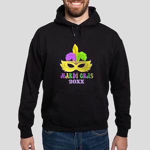 Mardi Gras Year Hoodie (dark)