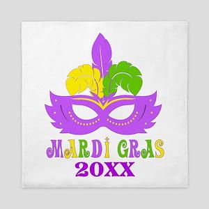 Mardi Gras Year Queen Duvet