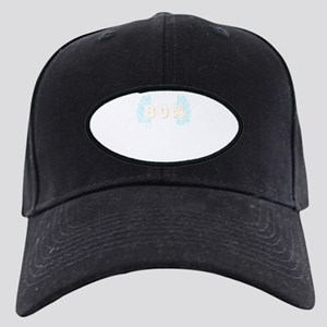 My Brain Is 80 Percent Is Rhy Black Cap with Patch