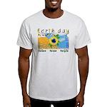 Kansas Earthday Ash Grey T-Shirt