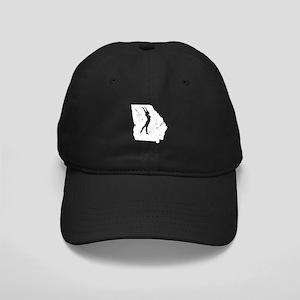 Georgia Gymnastics Shirts Gym Black Cap with Patch