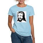 Laughing Jesus Women's Pink T-Shirt