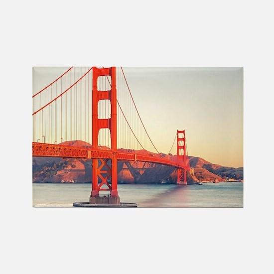 Golden Gate Bridge Rectangle Magnet