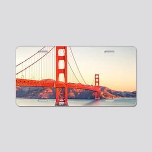 Golden Gate Bridge Aluminum License Plate