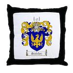 Sanchez Coat of Arms Throw Pillow