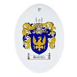 Sanchez Coat of Arms Oval Ornament