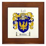 Sanchez Coat of Arms Framed Tile