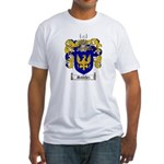 Sanchez Coat of Arms Fitted T-Shirt