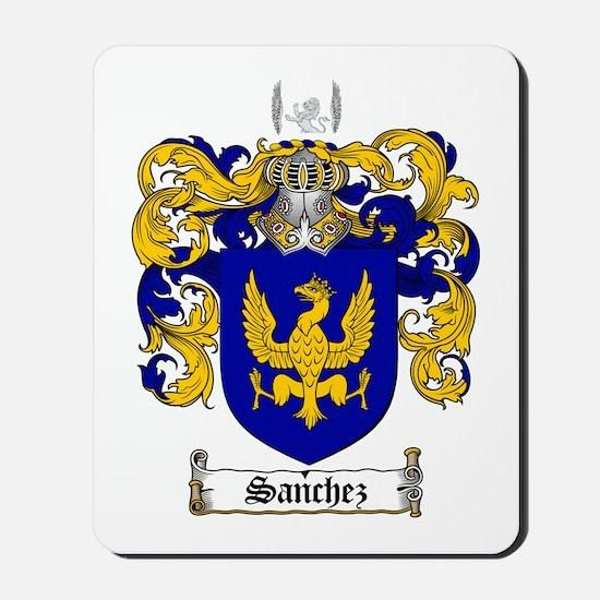 Sanchez Coat Of Arms Mousepad