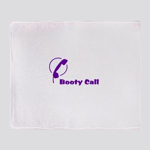 Booty Call Throw Blanket