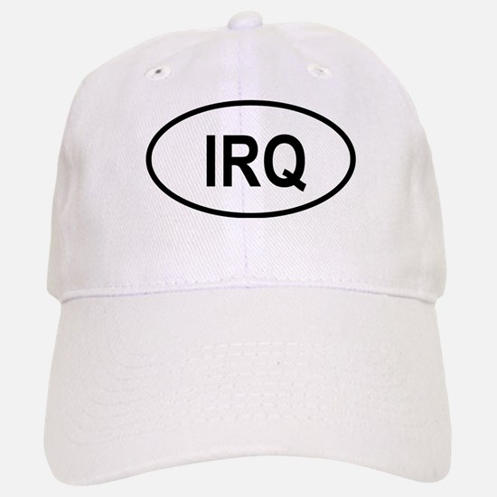 Iraq Oval Baseball Baseball Cap