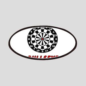 Bullseye Dartboard Patch
