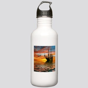 Pirate Ship Stainless Water Bottle 1.0L
