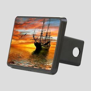 Pirate Ship Rectangular Hitch Cover