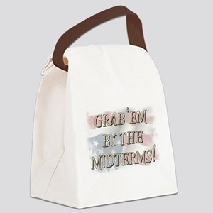 Grab 'em by the midterms! Canvas Lunch Bag