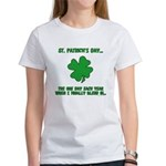 St. Patrick's Day - Blend In Women's T-Shirt