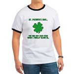 St. Patrick's Day - Blend In Ringer T
