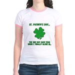 St. Patrick's Day - Blend In Jr. Ringer T-Shirt