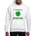 St. Patrick's Day - Blend In Hooded Sweatshirt