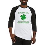 St. Patrick's Day - Blend In Baseball Jersey