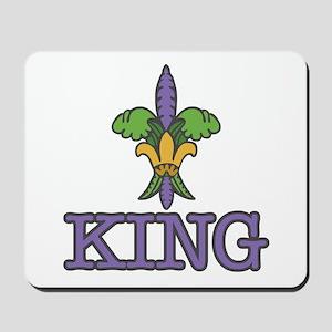 King Mardi Gras Mousepad