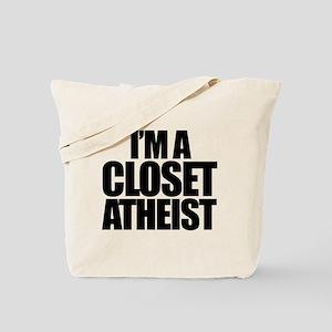 Closet Atheist Tote Bag