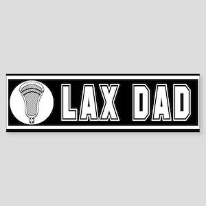 Lacrosse LaxDad Bumper Sticker