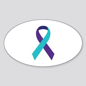 Suicide Awareness Ribbon Sticker