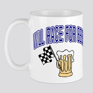 Will Race For Beer Mug