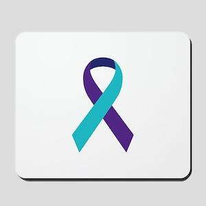 Suicide Awareness Ribbon Mousepad