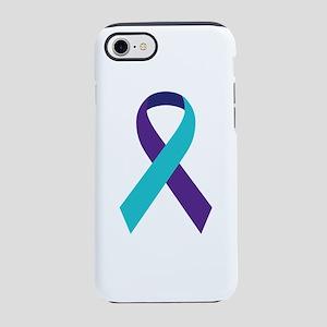 Suicide Awareness Ribbon iPhone 8/7 Tough Case