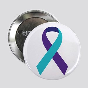 """Suicide Awareness Ribbon 2.25"""" Button"""