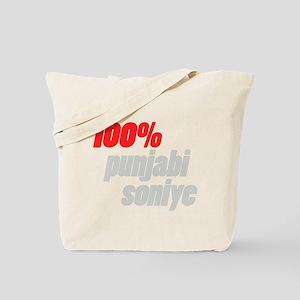 100 percent punjabi soniye Tote Bag