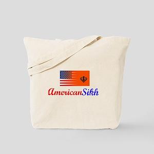 American Sikh Vintage Design Tote Bag