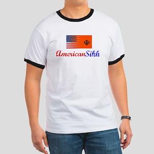 American Sikh Vintage Design Ringer T