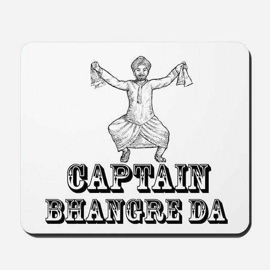 Captain Bhangre Da Mousepad
