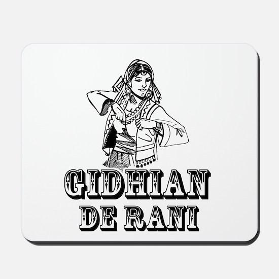 Gidhian de Rani Mousepad