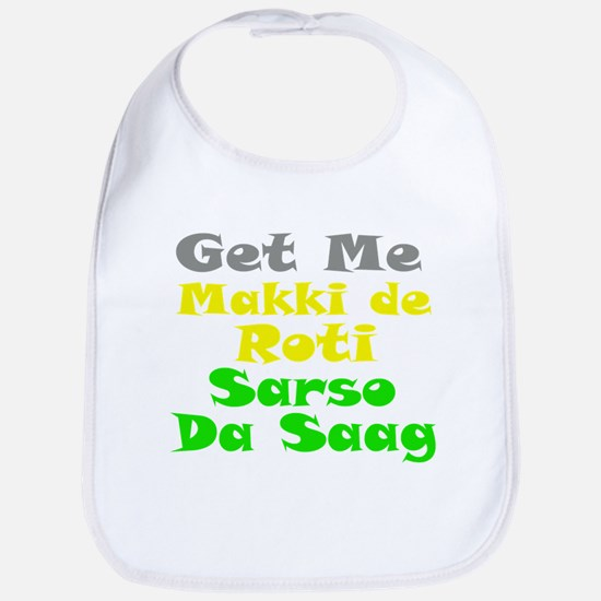 Get Me Makki De Roti te Sarso Bib