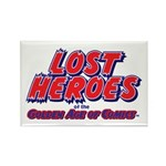 Lost Heroes of the Golden Age Rectangle Magnet