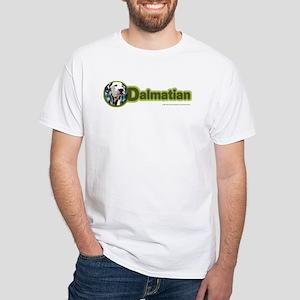 Dalmatian Breed White T-Shirt