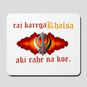 Raj Karega Khalsa Power Mousepad
