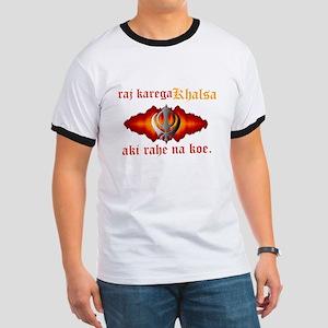 Raj Karega Khalsa Power Ringer T