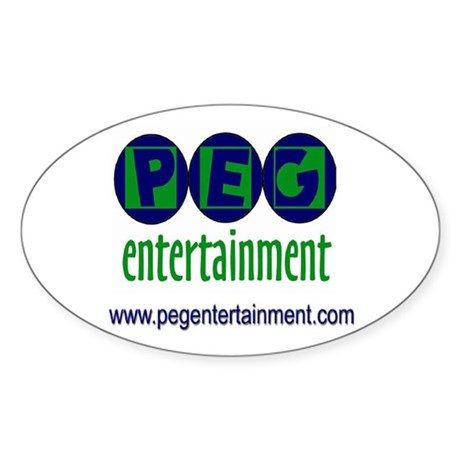 PEG Logo sticker for all your sticking needs