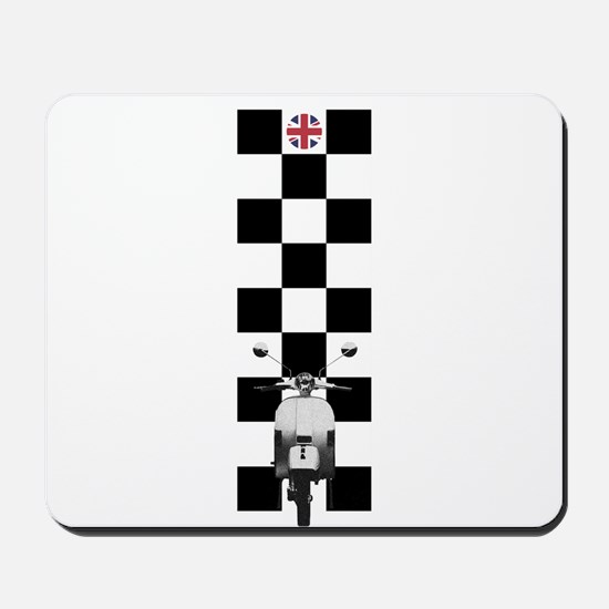 UK SCOOTER MODS Mousepad