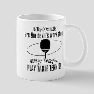 table tennis sport design Mugs