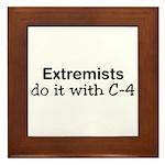 Extremist Framed Tile