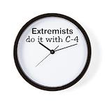 Extremist Wall Clock