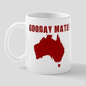 GOODAY MATE AUSSIE SHIRT MUG  Mug