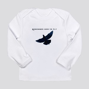 middle pigeons Long Sleeve T-Shirt