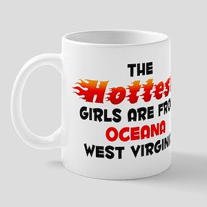 Hot Girls: Oceana, WV Mug